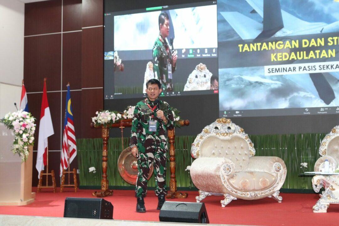 Pangkohanudnas Menjadi Narasumber Dalam Seminar Nasional Pasis Sekkau A-109
