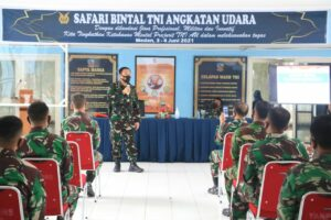 Safari Bintal TNI AU di Lanud Soewondo