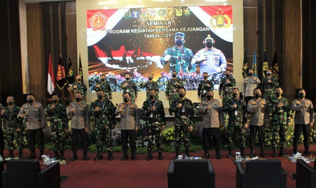 PKB Kejuangan Tahun 2021, Pentingnya Peran TNI Polri Beserta Komponen Bangsa Mempercepat Penanganan Covid-19 dan Pemulihan Ekonomi