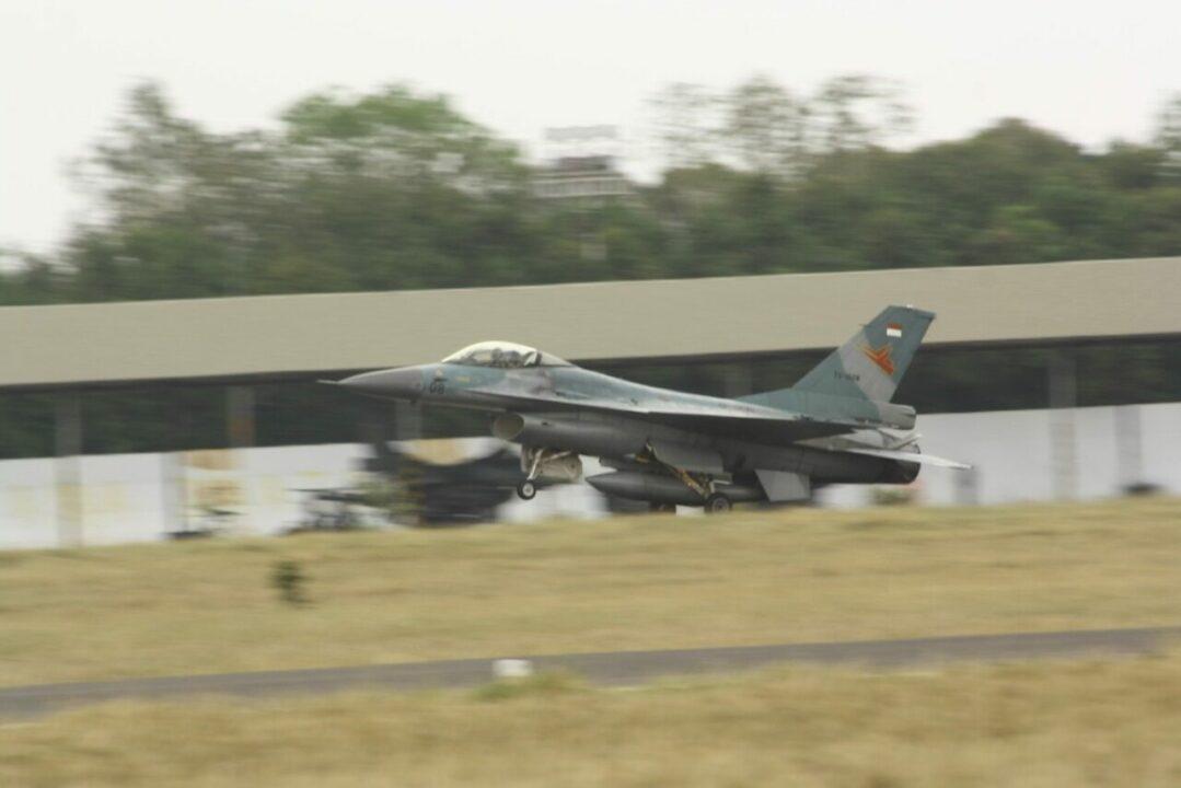 Satu Flight F-16 Skadron Udara 3 Lanud Iswahjudi Ikuti Latma Cope West