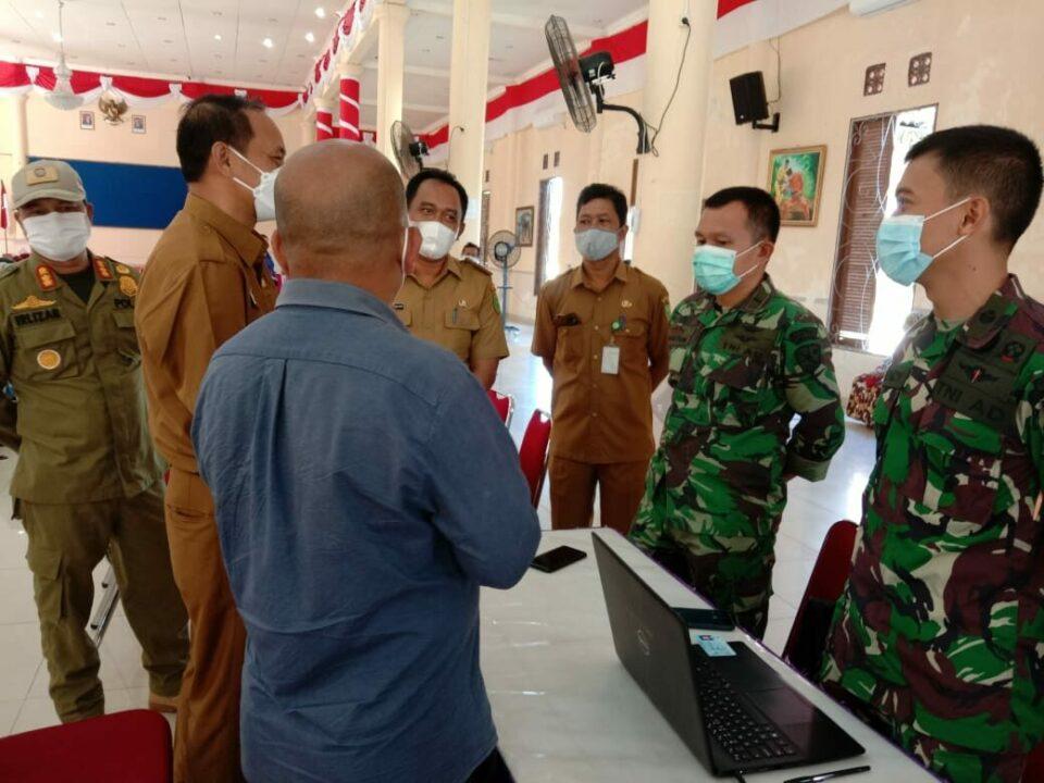 RSAU Lanud Raden Sadjad Sukseskan Pelaksanaan Program Vaksinasi di Natuna