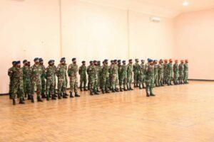 UPACARA PERINGATAN HARI ULANG TAHUN KE-70 KOMANDO OPERASI TNI ANGKATAN UDARA TAHUN 2021 DI LANUD LEO WATTIMENA