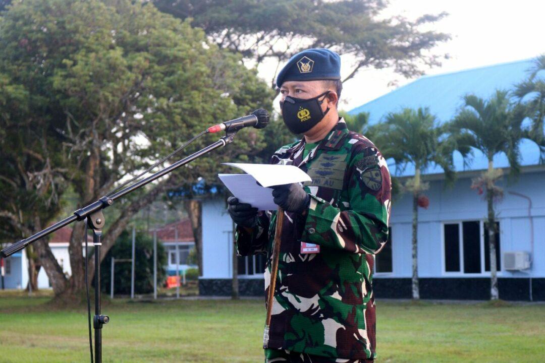 Upacara Peringatan Ke-70 Hut Koopsau Di Lanud Wiriadinata