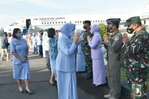 Danlanud Adisutjipto sambut kedatangan Kasau di Yogyakarta