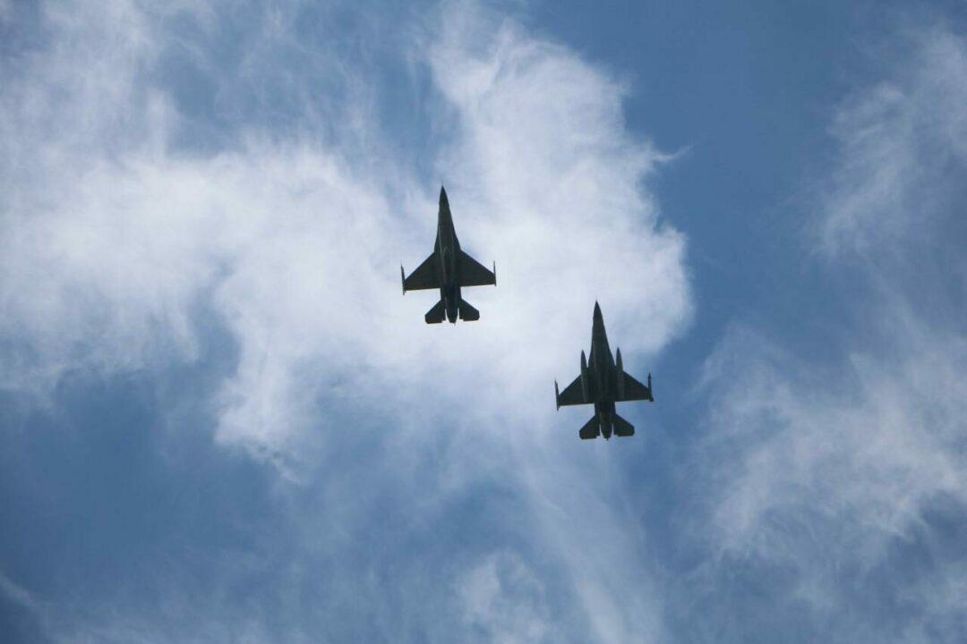 Cope West 2021 F-16 TNI AU – USPACAF Memulai Air to Air Maneuver