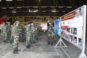 Kunjungan Kerja Aslog Panglima TNI ke Koharmatau.