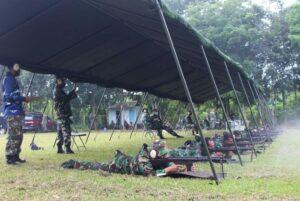 Anggota Lanud Suryadarma Terus Berlatih Untuk Tingkatkan Kemahiran Menembak