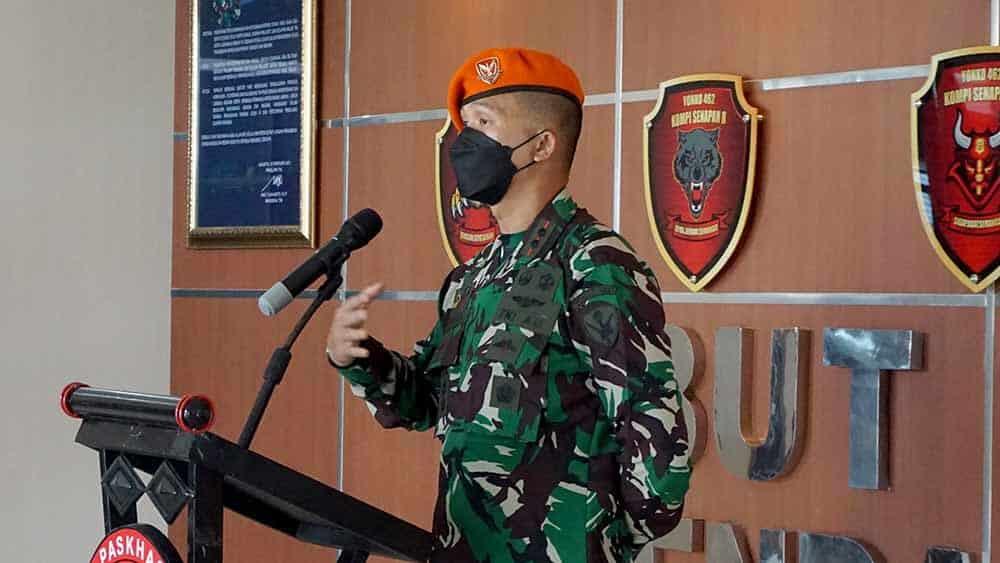 Danyonko 462 Pimpin Acara Tradisi Korps Raport Perwira Yonko 462 Menuju Satuan Baru