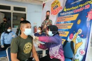 17. Lanud Rsn Hari Ini Kembali Gelar Serbuan Vaksin 17