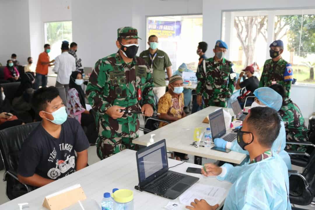 Lanud Pangeran M. Bun Yamin Kembali Gelar Vaksinasi Gratis, Kali Ini di Bandara
