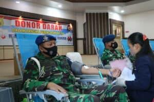 22. Personel TNI AU Di Lanud Rsn Kucurkan Darah Segar 10