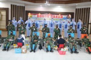 22. Personel TNI AU Di Lanud Rsn Kucurkan Darah Segar 5