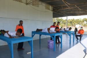 23. Casis Tamtama PK TNI AU Laksanakan Tes Samapta 10
