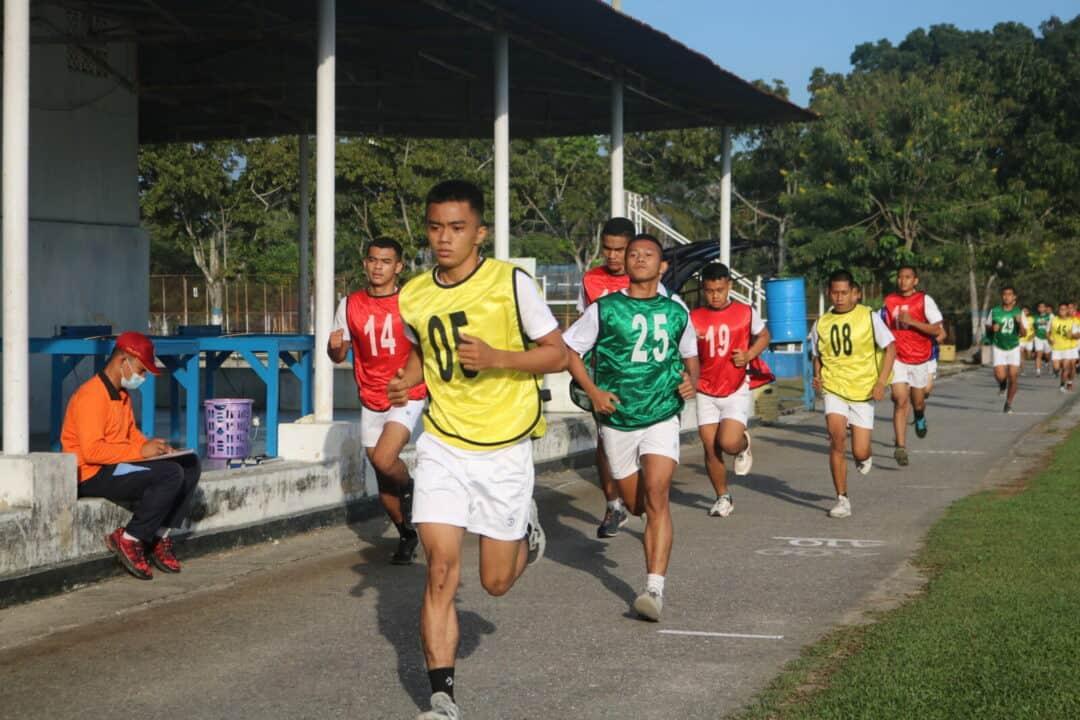 23. Casis Tamtama PK TNI AU Laksanakan Tes Samapta 7