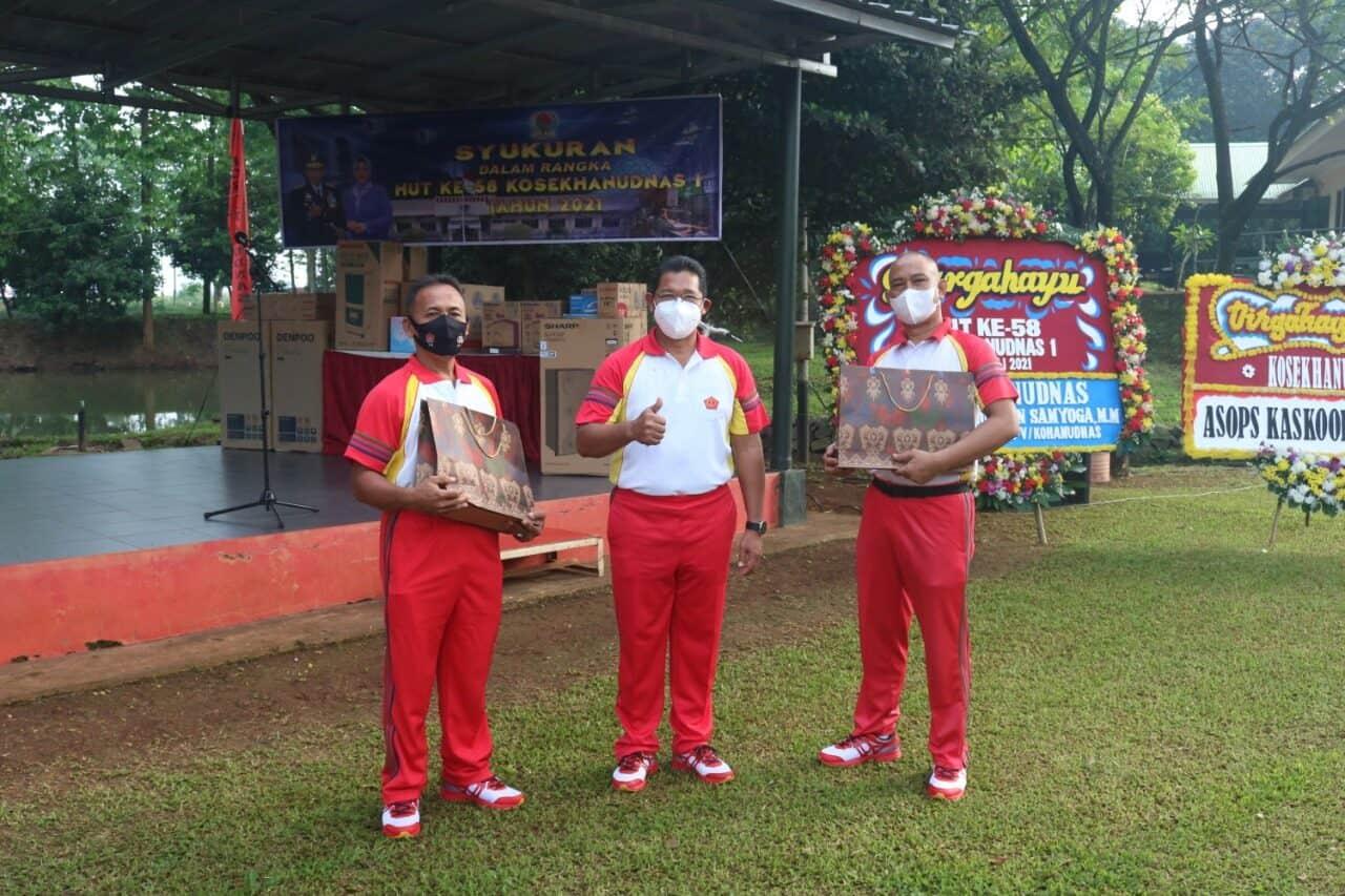Pangkosekhanudnas I : Jadikan HUT ke-58 Membangun Jiwa dan Semangat Labda Yudha Nirbaya