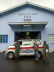 Lawan Pandemi, TNI AU Pasok Oksigen ke Sejumlah Rumah Sakit di Bandung