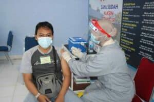Lanud Sjamsudin Noor Tetap Gelar Serbuan Vaksin Guna Tekan Penyebaran Covid-19