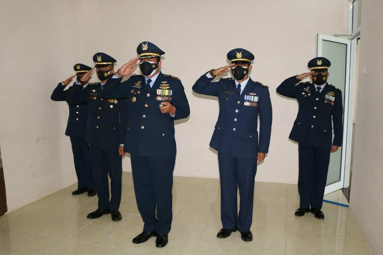 Danlanud Pangeran M. Bun Yamin Hadiri Peringatan Ke-74 Hari Bakti TNI AU Secara Virtual