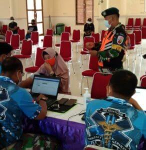 Lanud Raden Sadjad Secara Berkelanjutan Laksanakan Vaksinasi Massal di Natuna