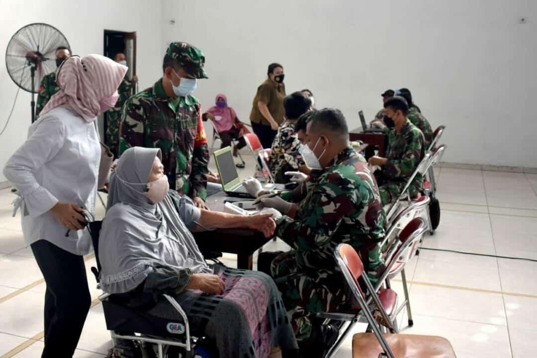 Lanud Adisutjipto dukung serbuan Vaksinasi di Yogyakarta.