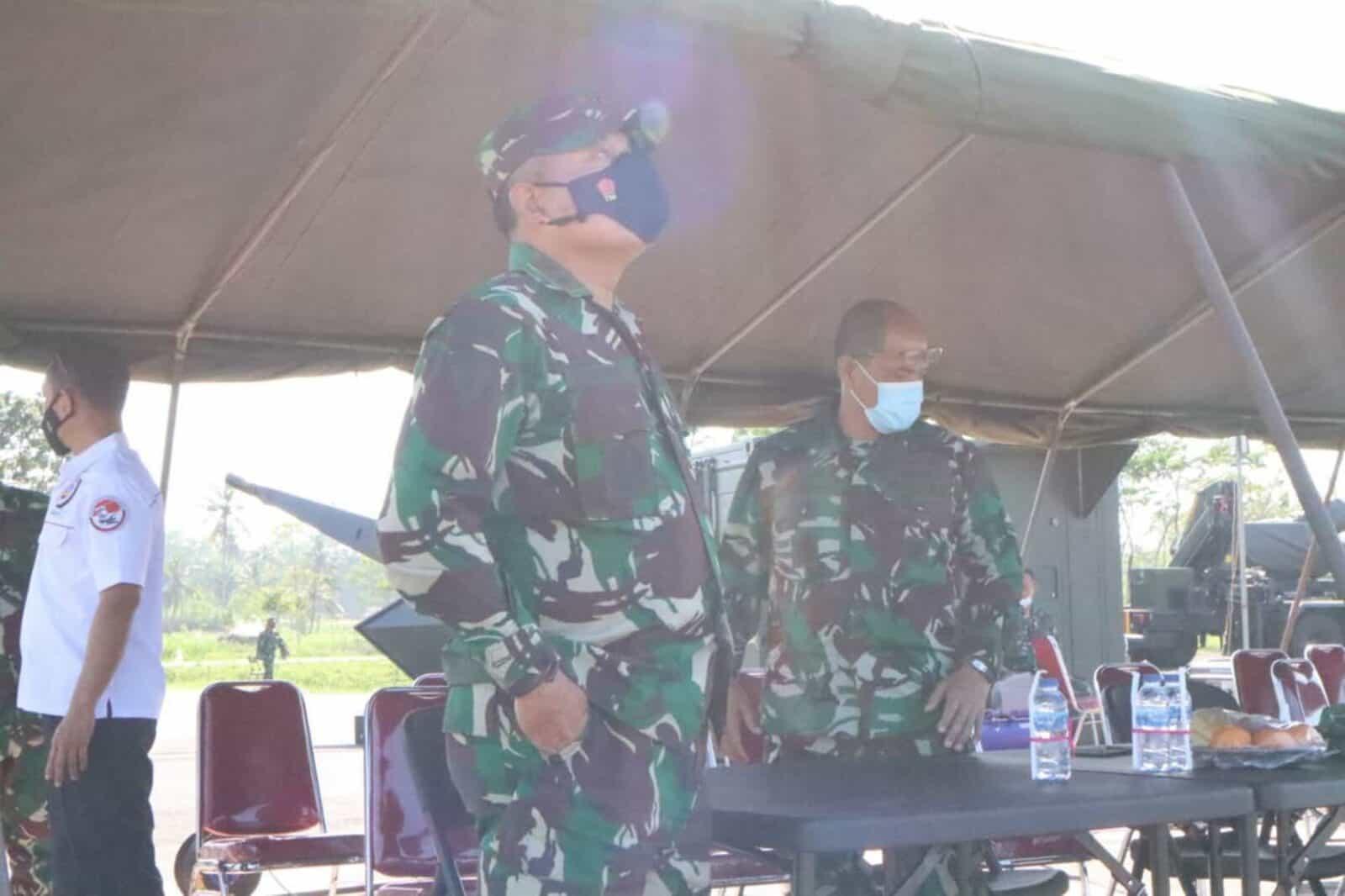 Dankorpaskhas Saksikan Penembakan Meriam Oerlikon Skyshield MK-II