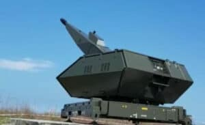 Dankorpaskhas Saksikan Penembakan Meriam Oerlikon Sky Shield
