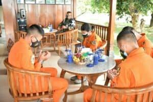 Siswa Sekbang Terpadu Angkatan 98 Laksanakan Latihan Navigasi.