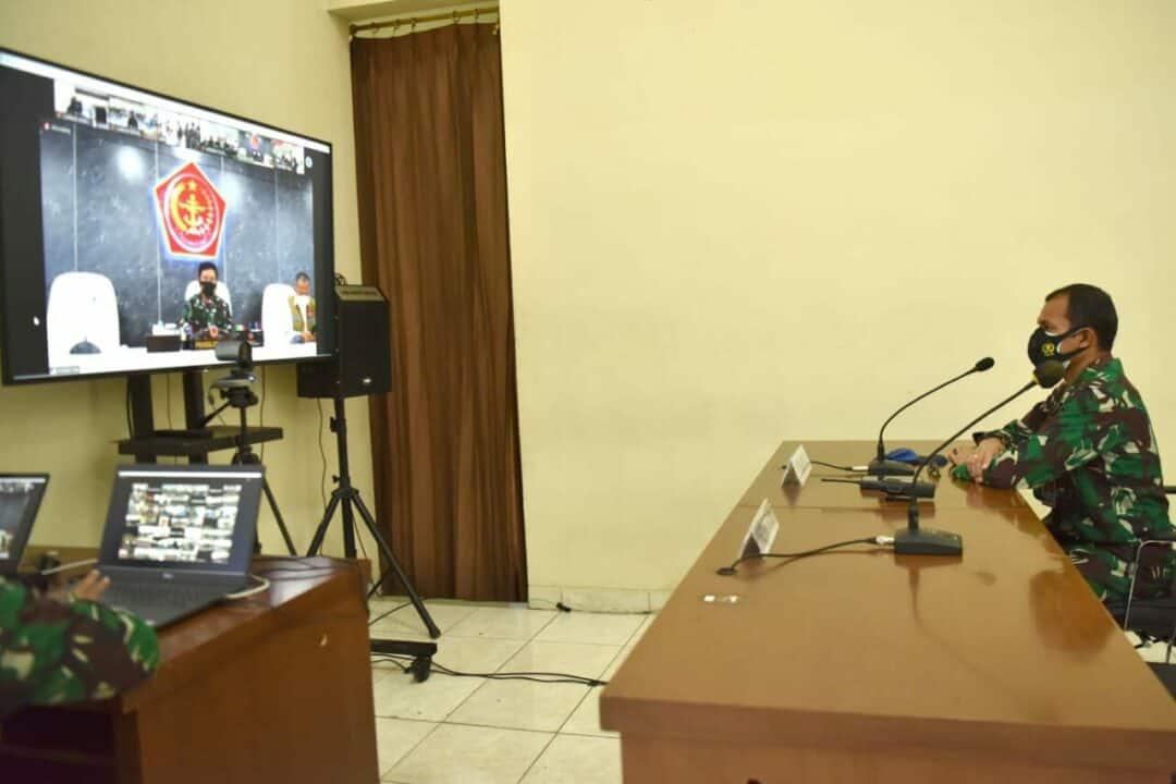Serbuan Vaksinasi Nasional Covid 19 digelar di Lanud Adisutjipto