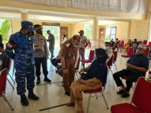 Serbuan Vaksinasi Nasional TNI-POLRI, Lanud Raden Sadjad Gelar Vaksinasi Covid-19 Massal Serentak