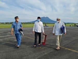 Lanud RSA Laksanakan Sholat Idul Adha dengan prokes yang ketat