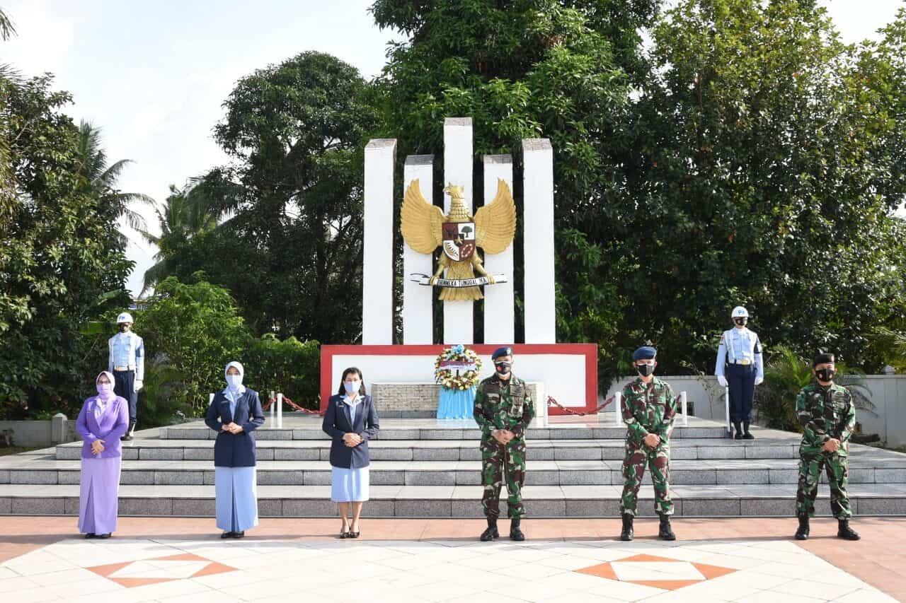 Ziarah Peringatan ke-74 Hari Bakti TNI AU