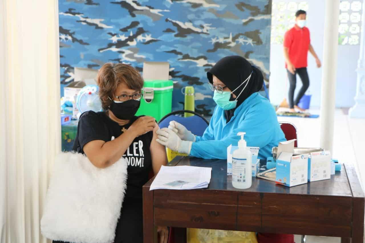 foto vaksin hari ke5
