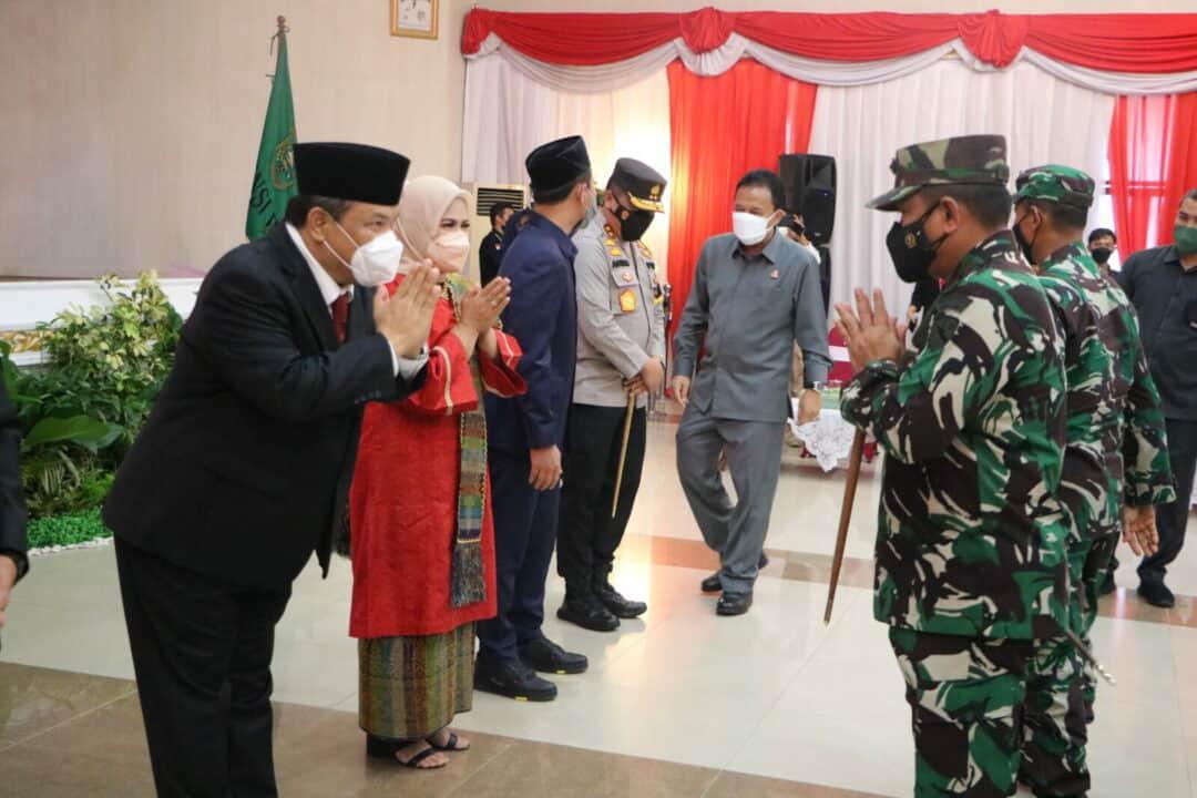 19. Danlanud Rsn Hadiri Pelantikan Sekdaprov Riau 21