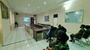 Pembekalan Ibu Raksa Tri Anggana Tantri dalam rangka HUT Wanita TNI Angkatan Udara ke-58.