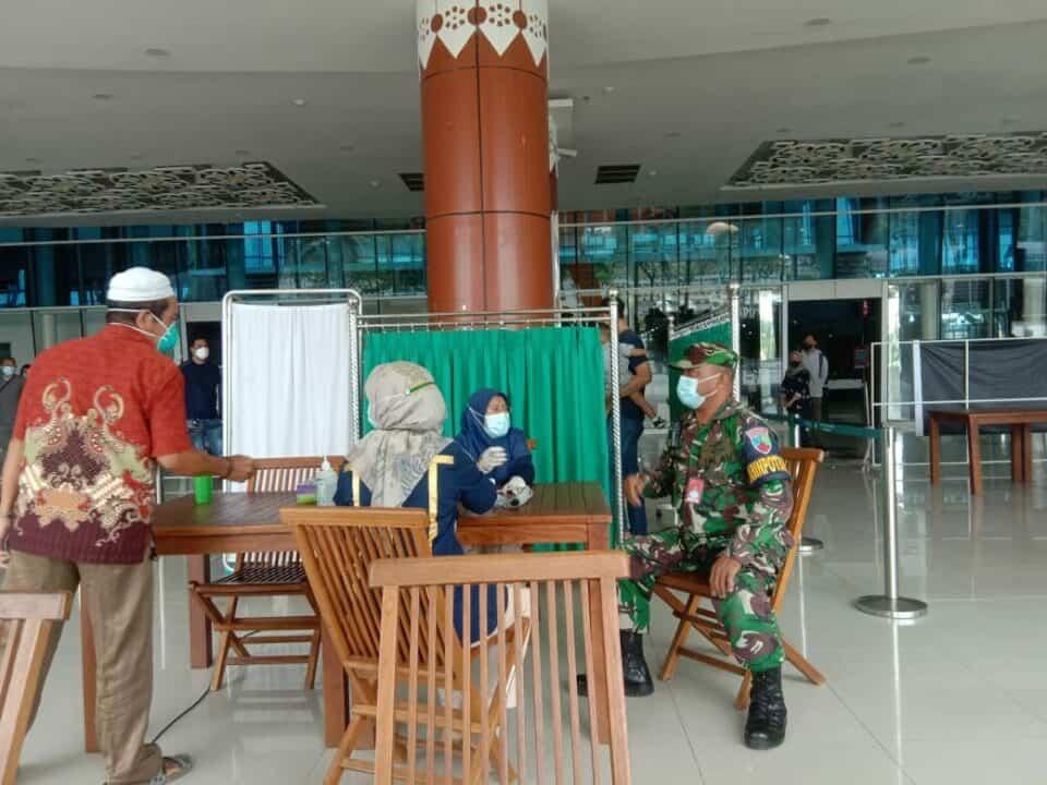 21. Vaksinasi Gratis Di Bandara SSK II Pekanbaru 2