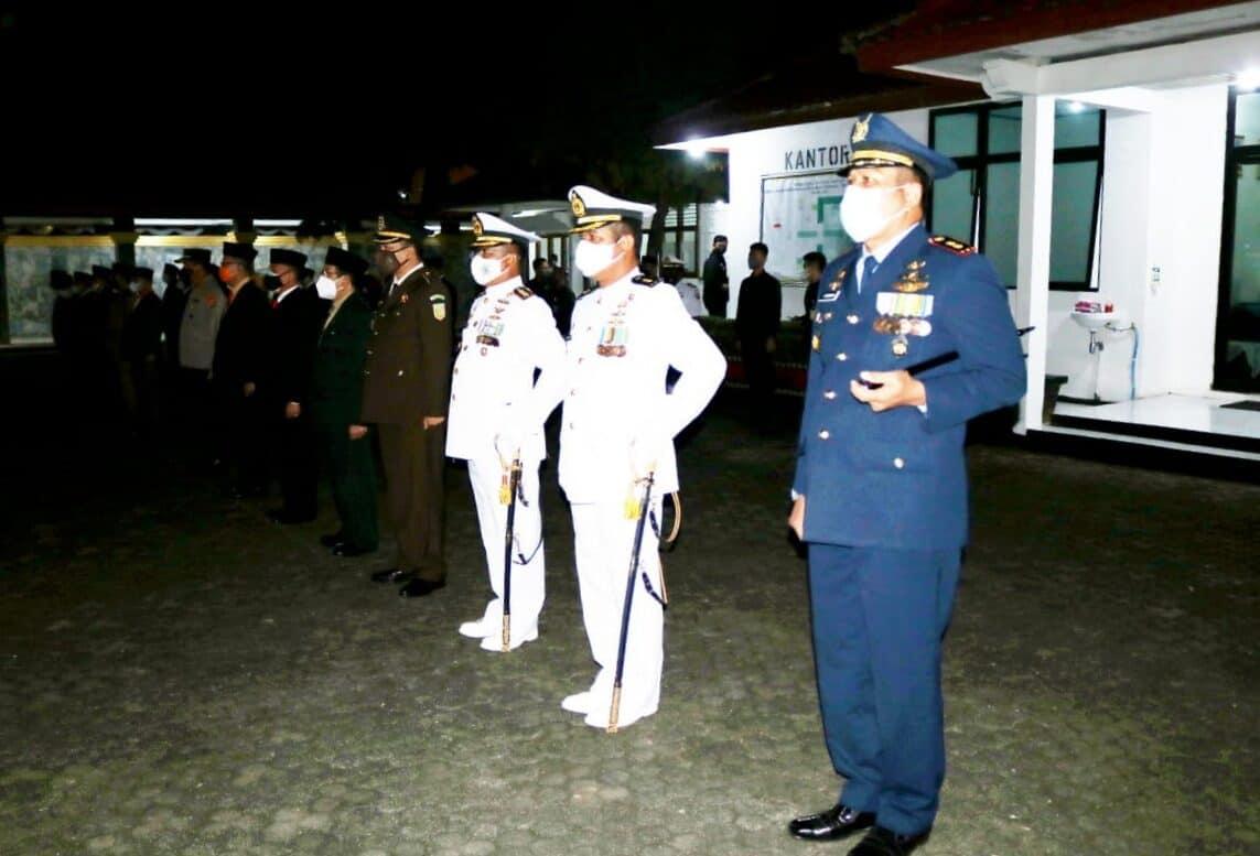Danlanud Pangeran M. Bun Yamin Hadiri Malam AKRS