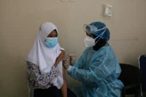 Lanud Pangeran M. Bun Yamin Gelar Serbuan Vaksinasi Gratis Dosis Kedua