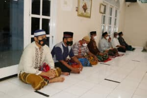 Personel Lanud Pangeran M. Bun Yamin Doa Bersama Peringati Tahun Baru Islam 1443 H