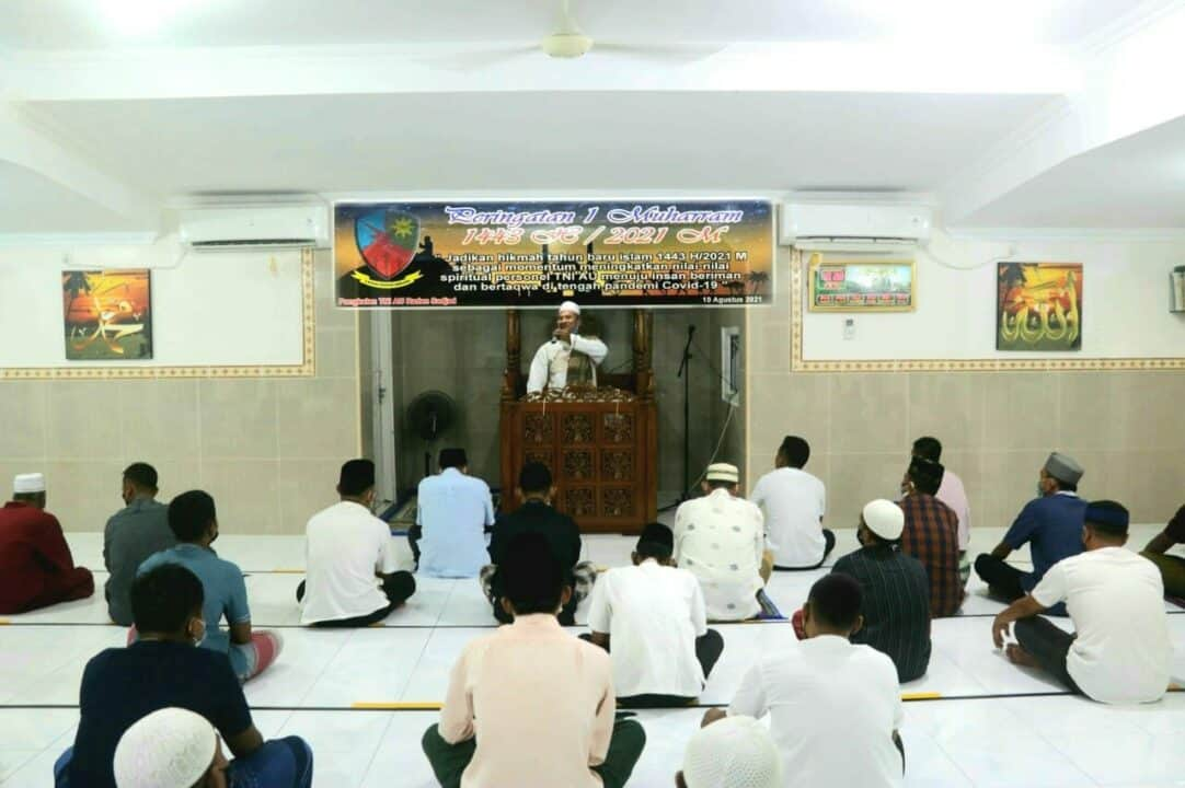 Sambut Tahun Baru Islam 1 Muharram 1443 H Lanud Raden Sadjad Doa Agar Pandemi Covid 19 Segera Berakhir