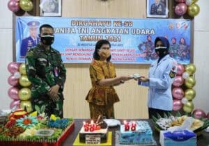 Syukuran Hari Ulang Tahun ke-58 Wanita TNI Angkatan Udara