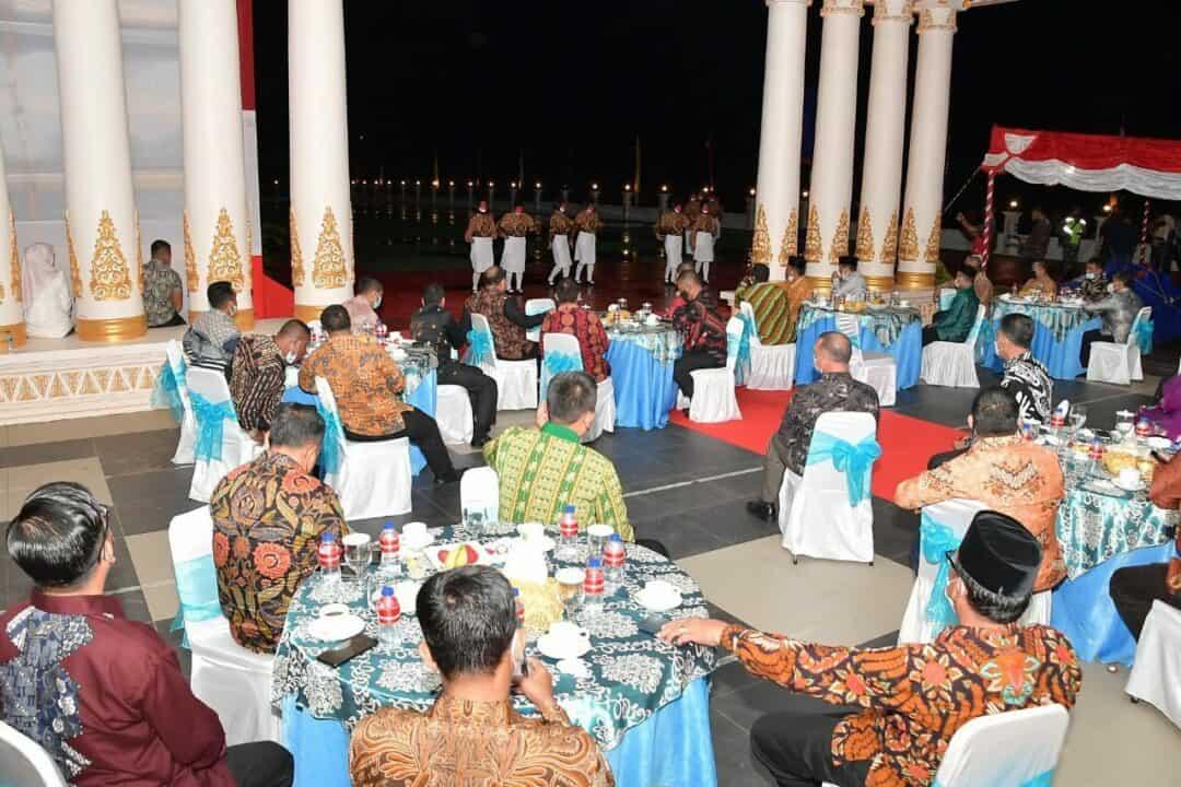 Danlanud RSA Hadiri Acara Silaturahmi HUT RI Ke-76 Bersama Bupati dan Wakil Bupati Natuna
