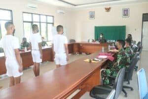 Lanud Raden Sadjad Gelar Pantukhirda Calon Tamtama Gel. III TA. 2021