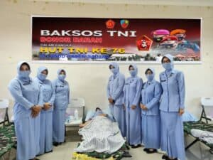 Lanud Raden Sadjad Gelar Baksos Donor Darah Jelang HUT TNI ke 76 5