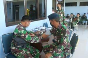 Lanud Raden Sadjad Gelar Baksos Donor Darah Jelang HUT TNI ke 76 7