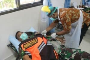 Lanud Raden Sadjad Gelar Baksos Donor Darah Jelang HUT TNI ke 76 8
