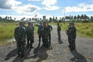 Tim Mabesau Survey Kesiapan Penerimaan UAV CH-4 di Lanud RSA