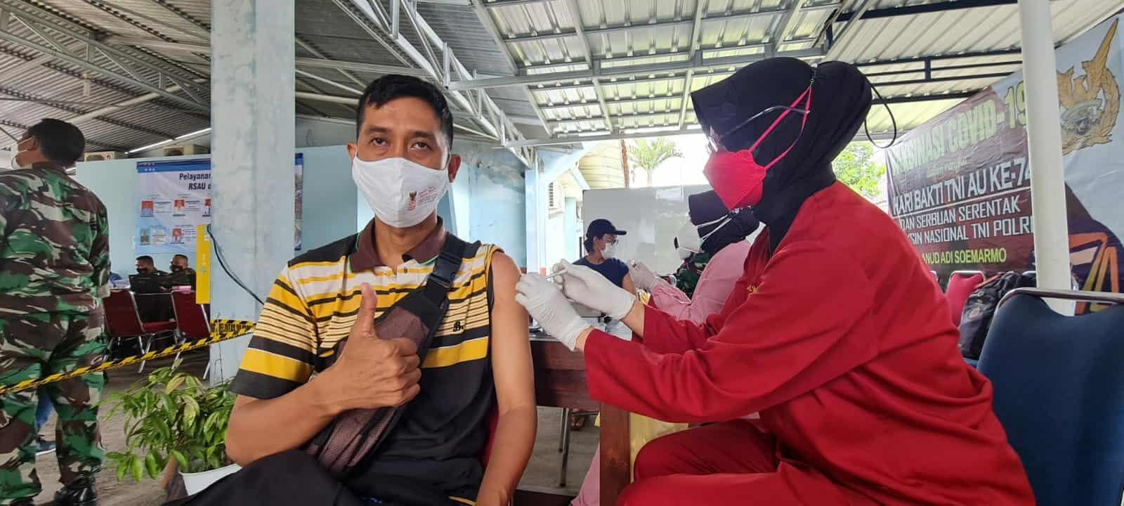 foto vaksin tgl 14 Sept 2021