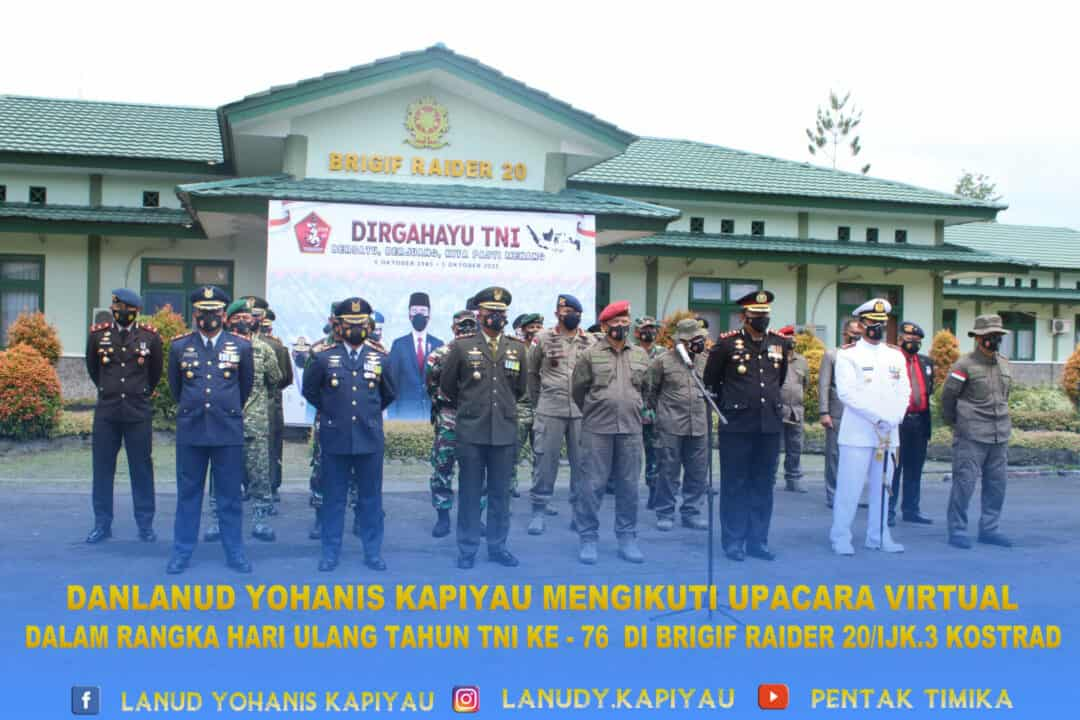 UPACARA HUT TNI 76