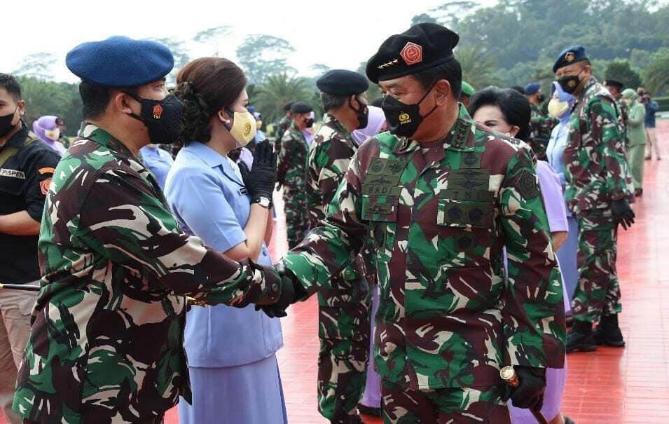 ucapan selamat dari panglima TNI